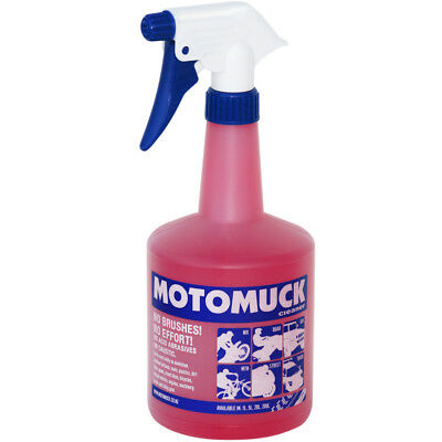 Motomuck NEW Mx 1L Motorbike Cleaning Solution 1 Litre Dirt Bike Cleaner Spray