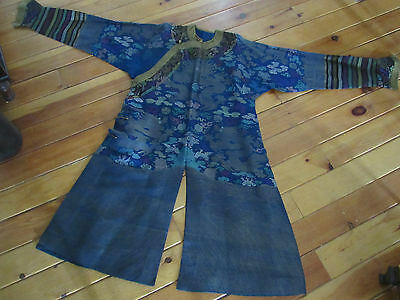 Qing Dynasty Chinese Antique Dragon Robe