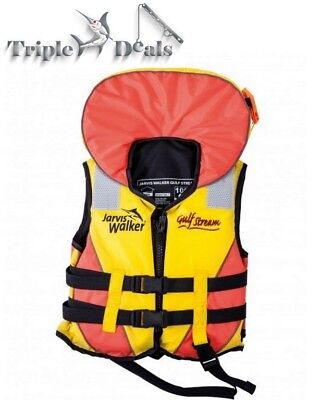 Jarvis Walker Gulf Stream Child Life Jacket-Level 100 Child PFD-Choose Your Size