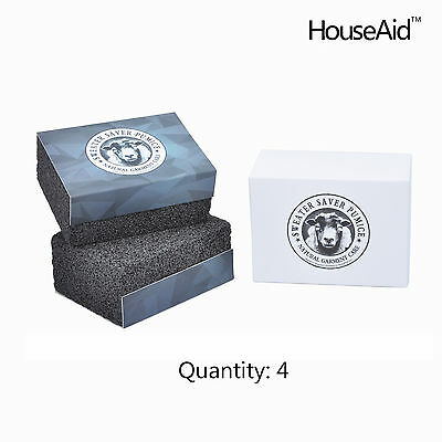 HouseAid Hollywood Sweater Pilling Saver Remover Fashion Pumice Stone 4pk