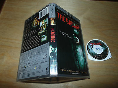 The Grudge (PSP UMD Video, 2005) Disc + Case