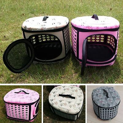 New Pet Supplies Dog Cat Carrier Outdoor Portable Handbag Foldable Puppy Cage