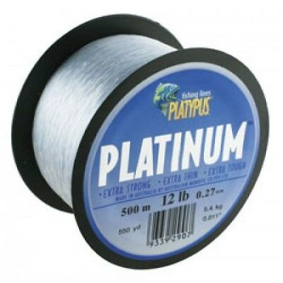 New Fishing PLATYPUS Platinum 500m mono fishing line
