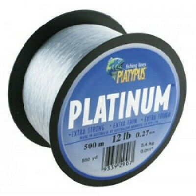 New Fishing PLATYPUS Platinum 300m mono fishing line