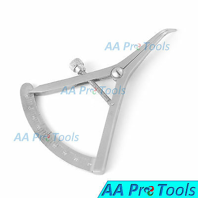 AA Pro: Castroviejo Caliper Curved 0-40mm Surgical Dental Medical Instruments