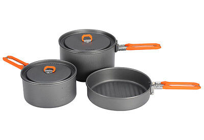 2-3 Person Cooking Pot Camping Cookware Outdoor Pots Sets Feast3