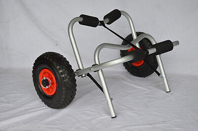 Collapsible Kayak Trolley Canoe Wheel Cart Boat Carrier-JET02004