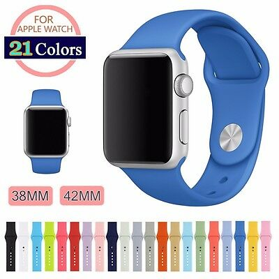 Strap Bracelet Band Silicone Fitness Replacement For Apple Watch Series 2