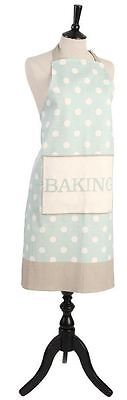 T&G Woodware Cream & Country Mint Spot Kitchen Apron