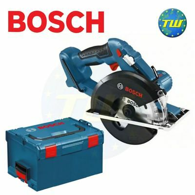 Bosch GKM18 18V Cordless Metal Cutting Circular Saw Body Only & L-Boxx Case