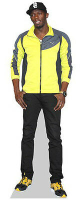 Usain Bolt Life Size Celebrity Cardboard Cutout Standee