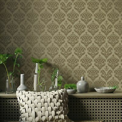 JASMINE DAMASK Moroccan Stencil - Furniture Wall Floor Stencil for Painting