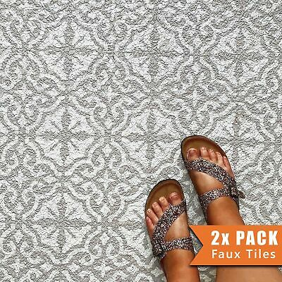 SEVILLE Mediterranean Tile - Furniture Wall Floor Stencil for Painting