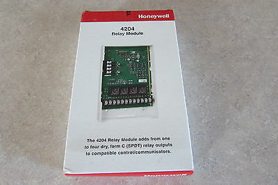 Honeywell 4204 Relay Module Sealed Free Priority Ship 60 Day Returns