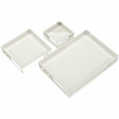 Apple Pie Memories Acrylic Stamp Block Set 3/Pkg NO TAX FREE SHIPPING