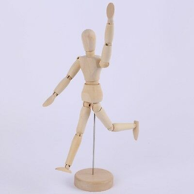 8 Inch Wooden Doll Drawing Man Manikin Mannequin Toy Art Painting Sketch Model