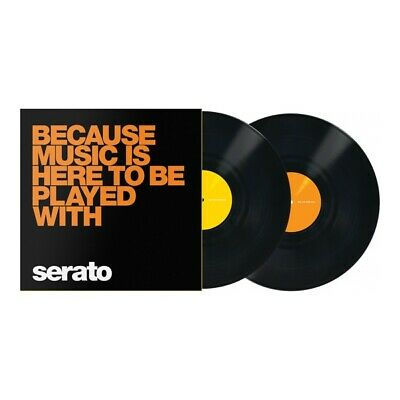 "Rane Serato Scratch Live Manifesto Timecode Vinyl ""Because Music is"""