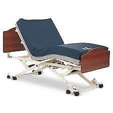 Invacare CS7- Hi-Lo -King Single-Hospital Bed-Electric Bed with Head & Foot b...