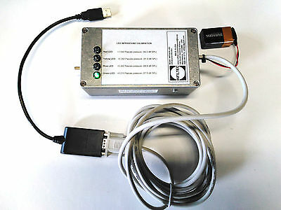 Infiltec Model INFRA20-LED Infrasound Monitor,USB Adapter,Data Logging Software