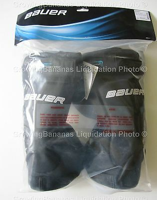 Bauer Reactor Hockey Goalie Knee Guards! New, Junior JR Senior SR, Thigh Pad Ice