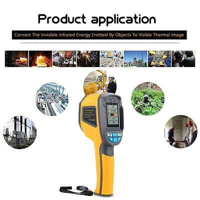 -20℃-300℃ Handheld Thermal Imaging Camera Portable Infrared IR Thermometer K2Q3