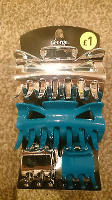 Hair Clips Job Lot 120 Pack,4 Per Pack