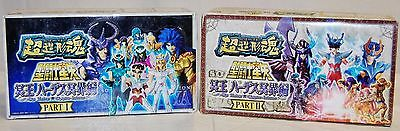 SAINT SEIYA: Soul Of Hyper Figuration - PART 1 + PART 2 - NEW IN BOX! 24 FIGURES