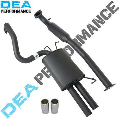 "Ba Bf Xr6 Sedan Ford Falcon 2.5"" Inch Catback Sports Exhaust Dual Out Muffler"