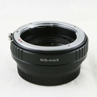 Camdiox Focal Reducer Speed Booster Nikon F mount G lens to Micro M 4/3 Adapter