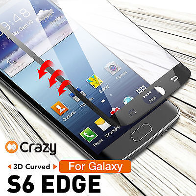 Full Coverage 9H Tempered Glass Screen Protector for Samsung Galaxy S6 Edge
