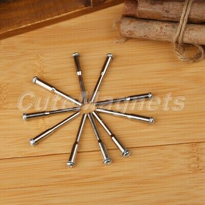 "50Pcs 1/8"" Shank Screw Mandrel Rotary Cutting Cut Off Wheel Holder Power Tools"
