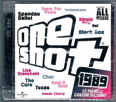 One Shot 1989 Raf Simply Red Tears For Fears Spandau Ballet The Cure 2 Cd Sigil.