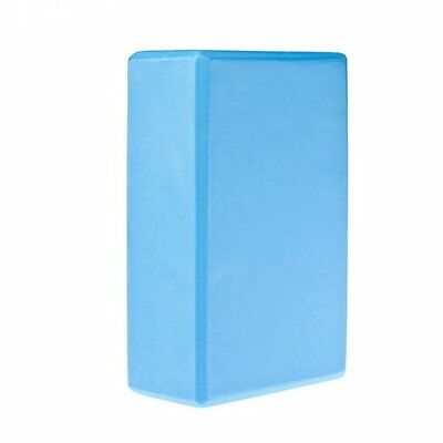 """9"""" X 6"""" X 3"""" Yoga Block Home Exercise Tool (blue) BF"""