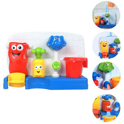 Children Kids Baby Bath time Toys Learning Fun Tap Flow Fill Spout Water Toy New
