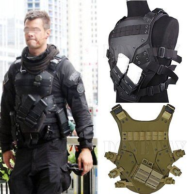 Tactical Hunting Airsoft CS TMC Cosplay TF3 Vest Harness Chest Rig Adjustable