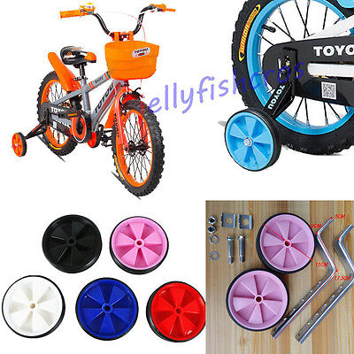 "Kids Childs Bicycle Bike Cycle Children Stabilisers 12-20"" Inch Training Wheels"
