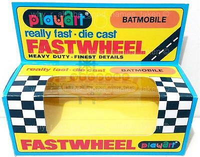 Repro PLAYART FASTWHEEL Window BOX for 1966 Batman Batmobile Diecast Car 1:64