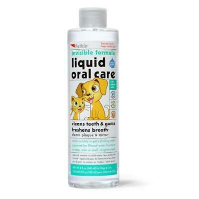 Petkin Liquid Oral Care For Teeth, Gums And Fresh Breath For Dogs And Cats 240ml