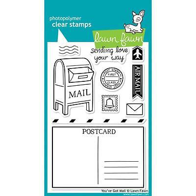 """Lawn Fawn - Clear Stamps - 4""""x6"""" Youve Got Mail"""