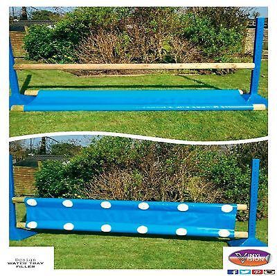 Equestrian Horse Pony Show Club Jump, Working Hunter FILLER/WATER TRAY