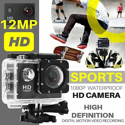 Full HD 720P SJ4000 Waterproof Sports Camera DV Action Video DVR Helmet Black