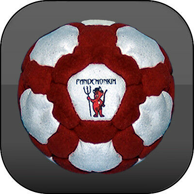 FOOTBAG THE FURY 100% RAW IRON FILLING 42 panels hacky sack