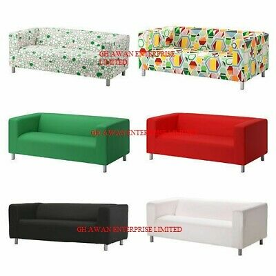 Two Seater Ikea KLIPPAN Sofa Slipcover Replacement Cover,Several Colours