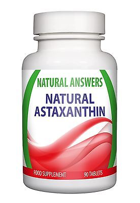 Astaxanthin 15mg 100% Pure Natural Anti Aging Powerful Antioxidant 90 Tablets