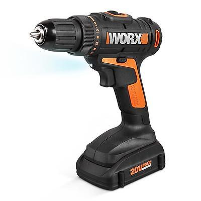 WORX WX169L.1 20V PowerShare Cordless Drill & Driver with (2) Batteries