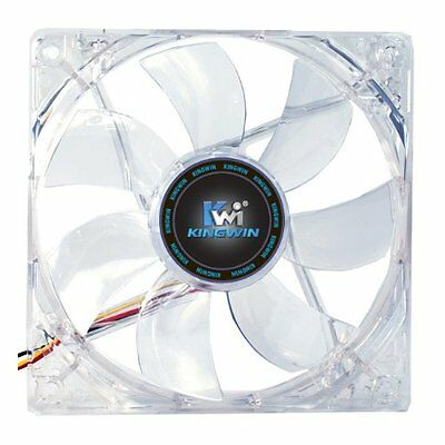 Kingwin CFR-012LB 120mm x 120mm Long Life Bearing Red LED Case Fan
