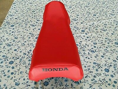 HONDA(n5) XR80R XR80 R XR100R XR100 R 1985 TO 1999 MODEL SEAT COVER RED  (H52)