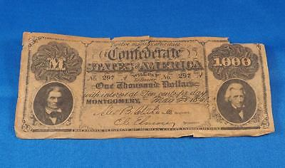 Vintage Confederate States Of America Stewart Title Company Advertising