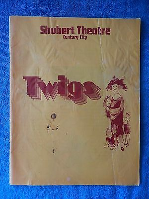 Twigs - Shubert Theatre Playbill -  March 1973 - Sada Thompson - Herbert Nelson