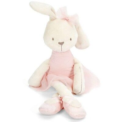 Baby Kids Children Soft Stuffed Long Plush Bunny Rabbit Crib Bed Doll Toy LOVELY